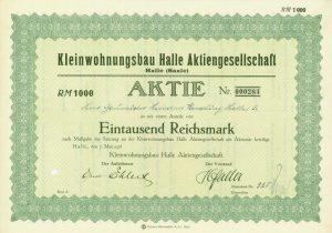 Aktie-Kleinwohnungsbau-AG