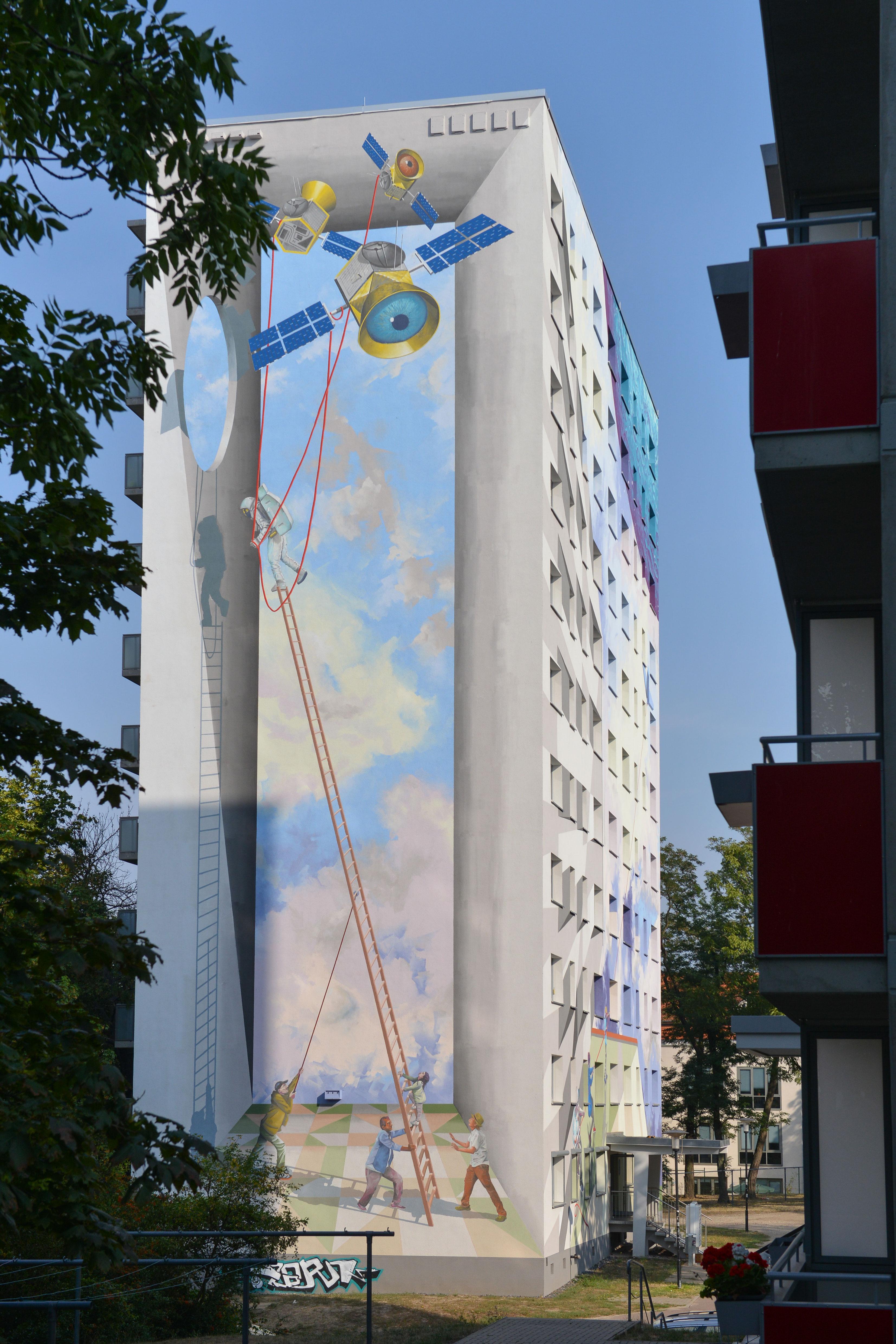Fassadenkunst Vossstrasse