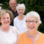 Vier Mitglieder des Seniorenbeirats