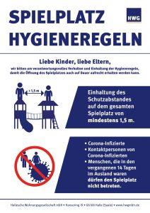 Spielplatz Hygieneregeln