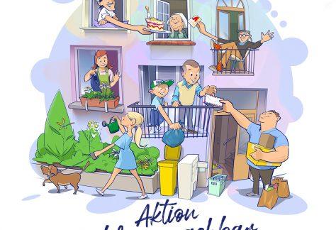 Illustration HWG-Aktion Lieblingsnachbar