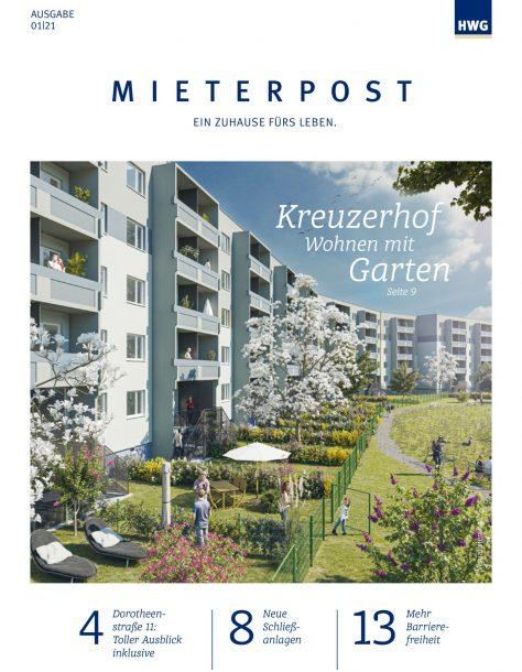 Titel HWG Mieterpost 1/2021