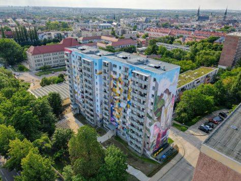Luftbild Projekt Voßstraße