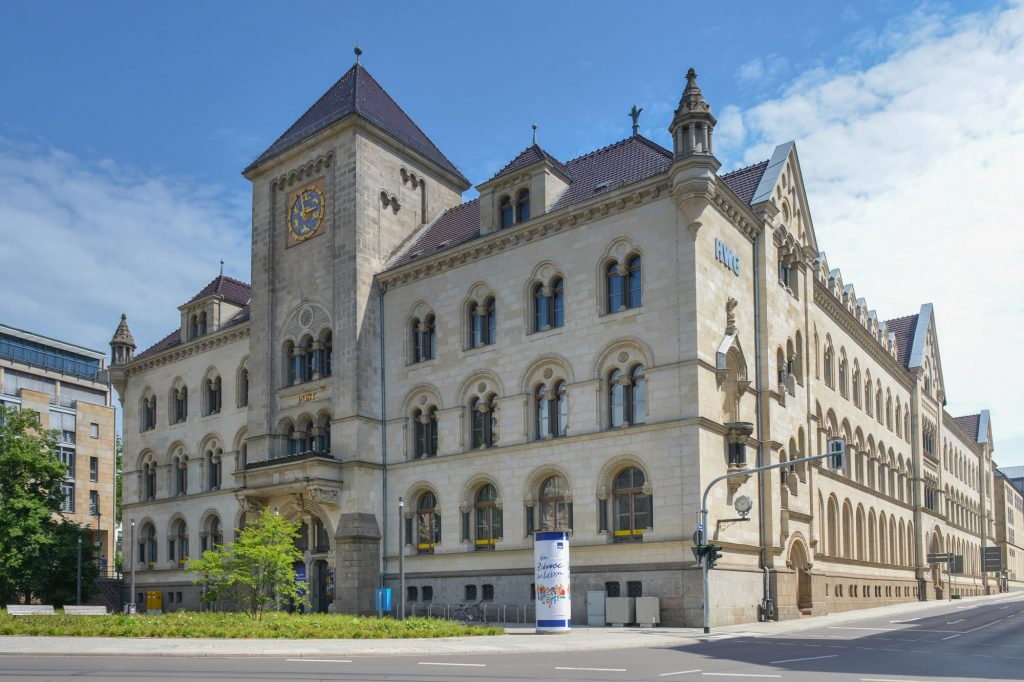 Blick auf den HWG-Firmensitz Hansering 19