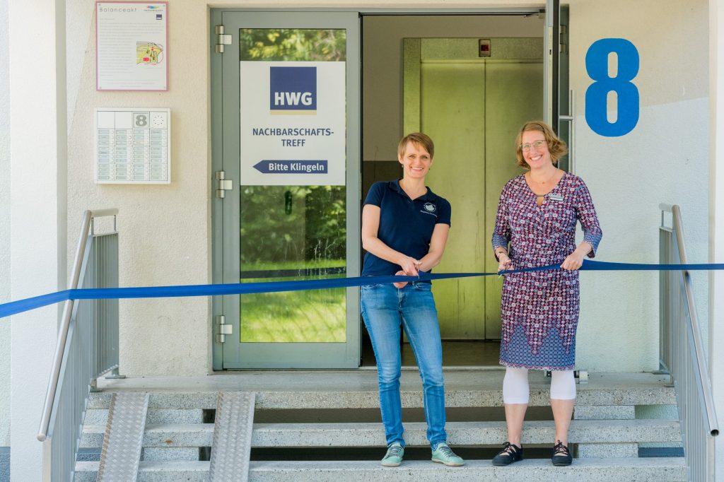 Feierliche Eröffnung des HWG-Nachbarschaftstreff Voßstraße 8