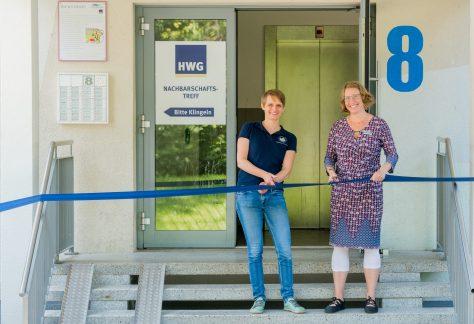 Feierliche Eröffnung desHWG-Nachbarschaftstreff Voßstraße 8