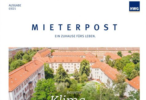 Titelbild Mieterpost 3/2021